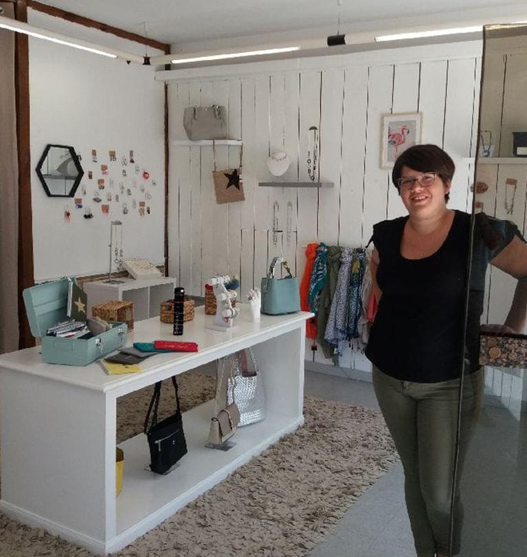 Boutique de mode féminine et accessoires de mode à Veuzain (41)